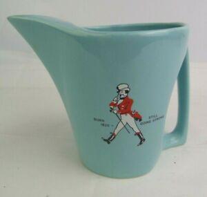 Vintage Wade Pottery Water Jug Advertising Johnnie Walker Scottish Whisky 13 cm