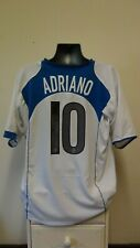 Inter Milan Away Football Shirt Jersey 2004-2005 ADRIANO 10 XXL 2XL