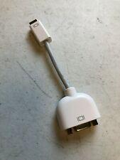 Apple Adapters: Mini Display-DVI, VGA-DVI, Mini VGA-VGA, Mini DVI-VGA