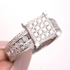 1.25ct Princess Cut Diamond Right-Hand Ring