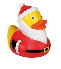 Badeente Quietscheente Weihnachtsmann Gummiente Schwimmente Weihnachten Nikolaus
