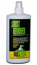Bull Frog 94236 Non-Toxic Rust Remover Easy, Safe, Removes Rust, Corrosion, 16oz