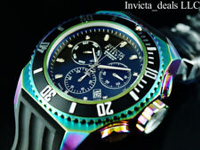 Invicta Mens Reserve SEAHORSE Russian Diver Swiss Chronograph IRIDESCENT Watch