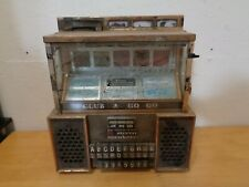 Vintage Seeburg Consolette Remote Selector Wall Box No Key Broken Glass Untested