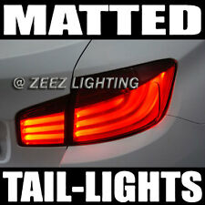 Matte Black-Out Taillight Tint Smoked Head Fog Tail Light Tinted Vinyl Film C95