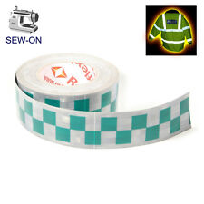 RTP2 High Viz Reflective Tape Silver and Green 50mm X1m
