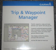 New listing Garmin MapSource * Trip + Waypoint Manager Cd v4.0 * works with windows