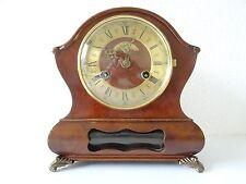 Warmink Wuba Dutch Vintage Mantel Shelf Bracket 8 day Clock (Junghans Hermle era