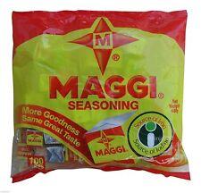 Maggi Cube Seasoning 100 Cubes  International food US Seller.