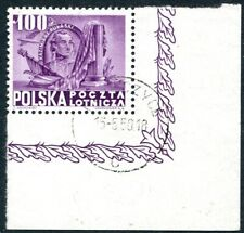 POLAND-1948 Presidents 100 z Sg 645b FINE USED V32108