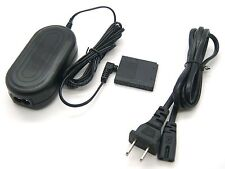 AC Power Adapter + DC Coupler for Canon PowerShot SD940 SD960 SD1100 SD1400 IS