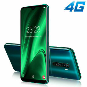 XGODY mobile phone unlocked smartphone 2020 New 4g Bleu Green Black Android 9.0