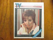 Oct-1985 Minneapolis Star Tribune TV Week Magazine(LIZA MINNELLI/A TIME TO LIVE)