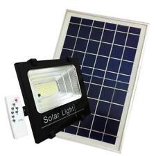 Projecteur Solaire LED 100W Dimmable avec Détecteur (Panneau Solaire + Télécomma
