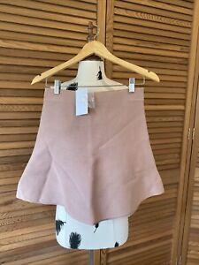 Women's Kookai Knit Style Malone Mini Skirt. Size 1. Bnwt Rrp $150