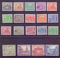 Berlin 1949 - Berliner Bauten - MiNr. 42/60 postfrisch** - Michel 750,00 € (172)