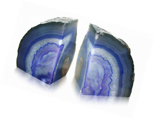 Beautiful Brazillian Agate Bookends Purple Fossil Gift Shop Each Piece Unique