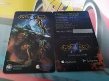 GODS & GLORY   PROMO CODE   wargaming mobile FRIDAY'S GAMES