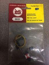 LGB 3031 (68331)  Red Euro Tail Light Lantern w/ Bulb & Socket NEW in Bag