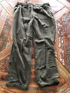 Mens Puma Lifestyle Sweatpants Green Size XXL