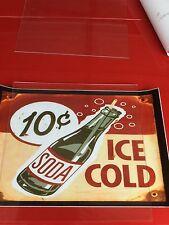 coke decal vintage stlyle vendo caviler machine soda coke cola peal and sticker