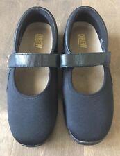Drew Womens Magnolia Mary Jane Diabetic Orthopedic Black Walking Shoe 7 WW