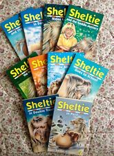 BUNDLE of 10 Sheltie books by Peter Clover.  Puffin Book. Very Good Condition.