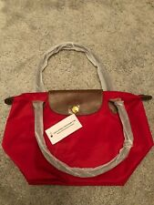 Longchamp Small Red Pliage Bag - Brand New With Tags
