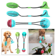 Multifunction Dog Iterative Tug Toy Rubber Suction Cup Toy