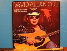David Allan Coe - Human Emotions -& insert US Press-Free UK Post