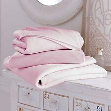 NEW CLAIR DE LUNE PINK GIRLS BEDDING BALE 3 PIECE COT BED SHEETS & BLANKET SET