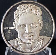 Steve Young .999 silver coin 1 oz