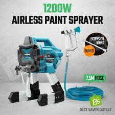 DIY Electric Airless Paint Gun Sprayer Machine Wall Indoor Outdoor Painting Hose
