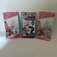 Lot of Disney & My Little Pony Valentines Cards & Sticker In Box Unused Set 2