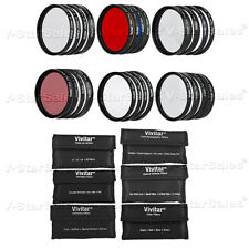 58mm Vivitar 24 Piece Filter Kit for Canon Nikon Sony Olympus Pentax