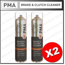 2 X del Freno Y Embrague Limpiador Desengrasante Pma Aerosol Profesional Spray 600ml brcl