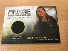 Fringe Season 5 M6 - 39/50 Olivia Dunham As Anna Torv Authentic Wadrobe Card