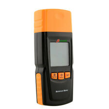 Portable Digital Wood Building Material Moisture Meter Damp Tester f. Brick wood