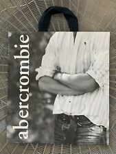 RARE~Vintage ABERCROMBIE&FITCH MAN Model LARGE Store SHOPPING GIFT Paper BAG~New