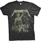 Metallica 'Justice Vintage' (Noir) T-Shirt