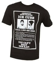 Ice Cube America's Most Wanted Black Men's Graphic T-Shirt New