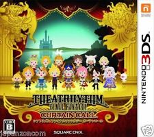 Used 3DS Shiatorizumu Final Fantasy Curtain Call NINTENDO 3DS JAPANESE  IMPORT