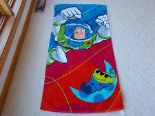 Disney Store TOY STORY BUZZ LIGHT YEAR Beach Towel Adventurers NEW!!!!