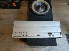 Boston Acoustics Gt28 2 channel/mono high end car amplifier