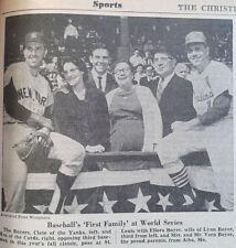 Baseball World series 1964 Oct 8 9 10 12 13 14 15 16 17 19  Yankees V Cardinals