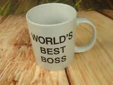 Worlds Best Boss Coffee Mug The Office TV Show Universal Network television