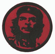 écusson patche Che Guevara rouge thermocollant adhésif brodé patch
