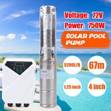 4 Dc Deep Well Solar Water Bore Pump Kit Submersible Water Pump Mppt Controller