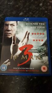IP MAN 3  BLU RAY  (MARTIAL ARTS)  VGC  WELL GO USA  ENGLISH DUBBED