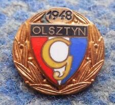 GWARDIA OLSZTYN FOOTBALL FUSSBALL SOCCER SHOOTING SPORTS JUDO 1980' HONORARY PIN
